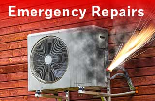 Emergency heating and cooling repairs in Melbourne