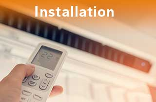 Installing a new heating or cooling system